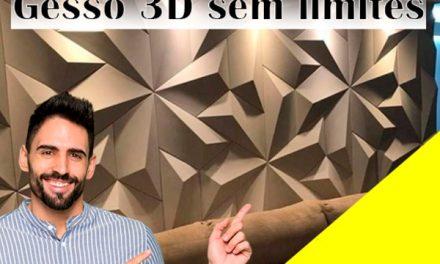 Como Fazer Gesso 3D