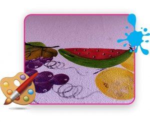 Pintura em tecido simples curso