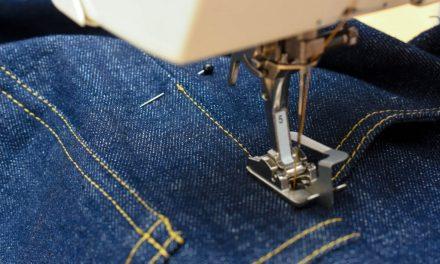 Curso de Costura Industrial em Jeans